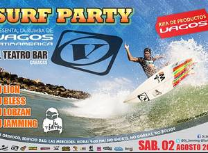 Surf Party en el Teatro Bar