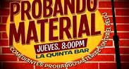 Probando Material en La Quinta Bar