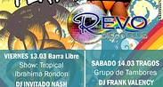 Rumba playera en Revo Disco Club