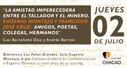 Concierto-charla en homenaje a Eugenio Montejo