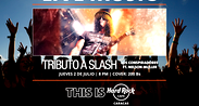 Tributo a Slash en Hard Rock Café