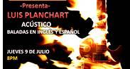 Luis Planchart - Baladas Pop-Rock en acústico