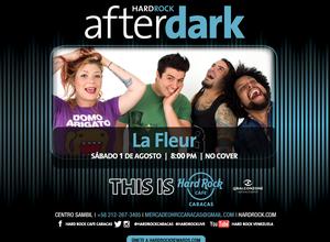 La banda Le Fleur se presenta en Hard Rock Café
