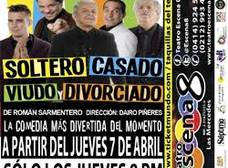 """""""Soltero, casado, viudo y divorciado"""" en el Escena 8"""