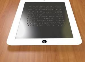 Desarrollan una tablet para invidentes