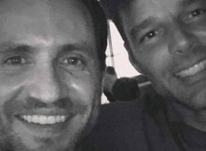 Ricky Martin le envió mensaje afectuoso a Edgar Ramírez