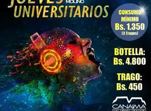 Jueves Universitarios - El Molino