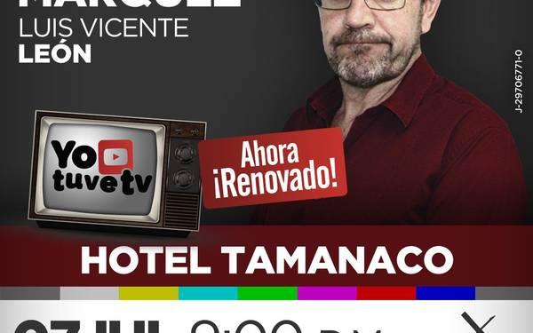 """""""Yo tuve TV"""" con Laureano Márquez"""