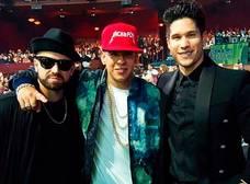 Así fue la presentación de Chino y Nacho junto a Daddy Yankee en Premios Juventud