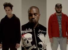 """Tres amigos, Francis and the Lights, Kanye West y Bon Iver se unen para el video de """"Friends"""""""