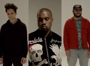 "Tres amigos, Francis and the Lights, Kanye West y Bon Iver se unen para el video de ""Friends"""