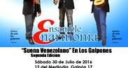 """""""Suena Venezolano"""" de Ensamble Enarmonía en Los Galpones"""
