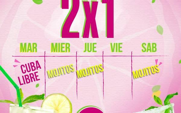 Promociones 2x1 en Salad Bistró