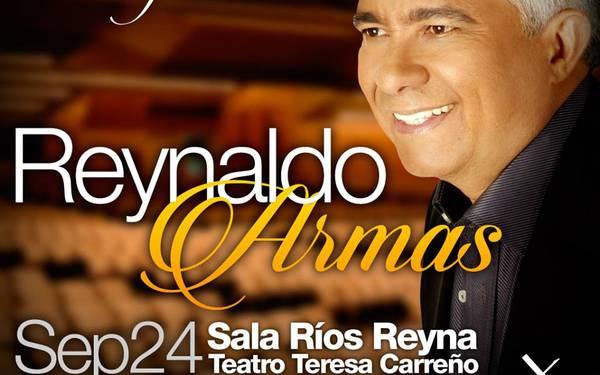 Reynaldo Armas celebra 40 años de historia musical en inolvidable presentación