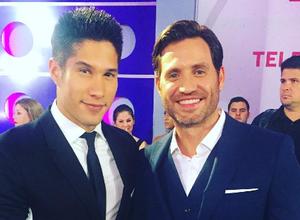 Así lucieron Edgar Ramírez y Chino en los Premios Tu Mundo