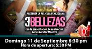 Cine Jardín proyectará la película venezolana 3 Bellezas