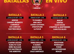 Comienzan las eliminatorias de la IV Edición del Festival Viva Rock Latino