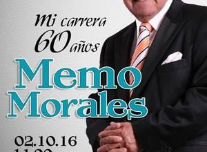 Mi carrera 60 años: Memo Morales en Teatrex El Bosque