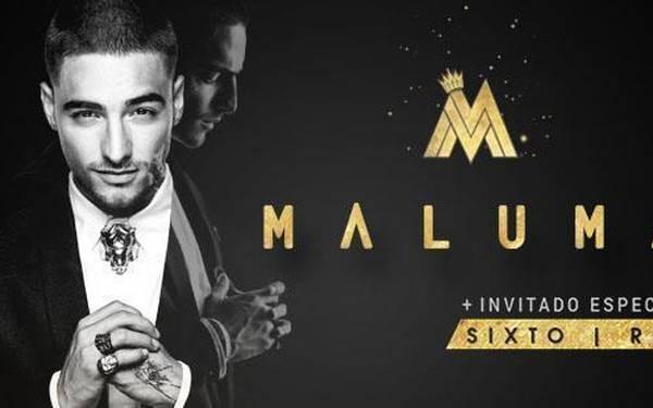 Maluma llega a Caracas
