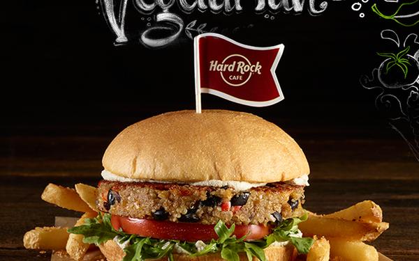 Disfruta la Veggie Month en el Hard Rock Café