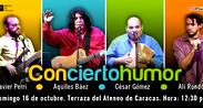 """Aquiles Báez presenta """"Con cierto humor"""""""