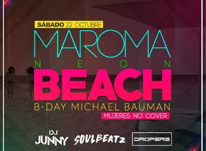 Maroma Beach Neon