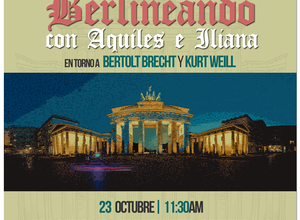 BERLINEANDO CON AQUILES E ILIANA