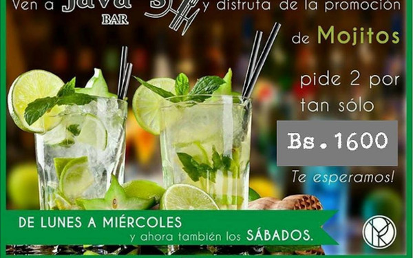 Mojitos en Java´s Bar
