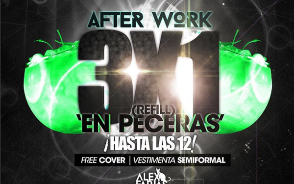 After Work en Bahamas Club