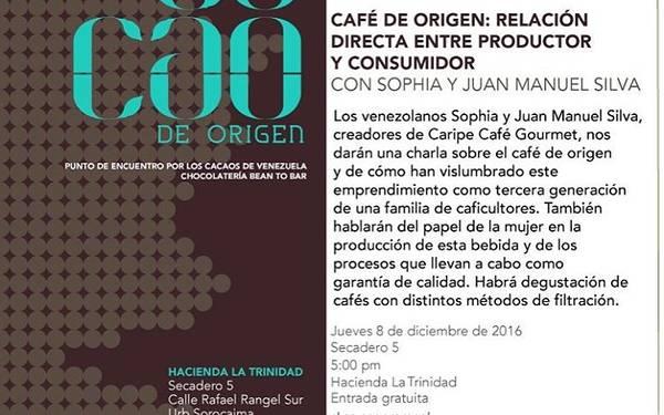 Charla Cacao de Origen
