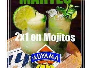 Martes de Mojito en Auyama Café