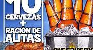 Promo 10 Cervezas + Alitas