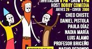 Noche de Stand up Comedy - Probando Material