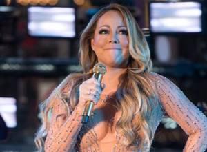Mira la penosa actuación de Mariah Carey en Times Square