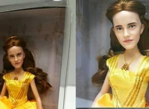 """Mira la """"aterradora"""" muñeca de Emma Watson como Bella"""