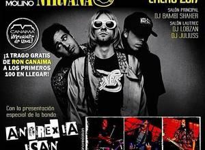 Tributo a  Nirvana con la banda Anorexia Isan.⠀