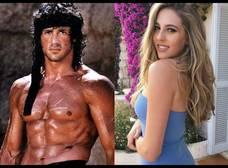Conoce a las hijas sensuales de 10 famosos muy rudos
