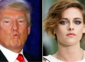 "Kristen Stewart sobre Donald Trump: ""Se obsesionó conmigo, fue muy loco """