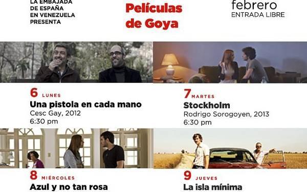 El ciclo películas de Goya