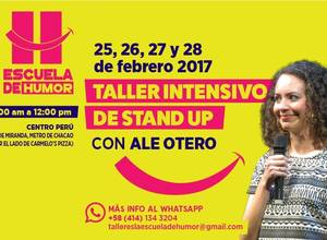 Taller intensivo de Stand Up Comedy