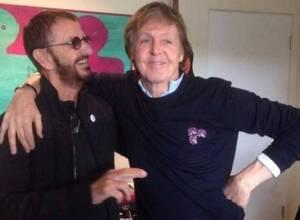 Ringo Starr y McCartney juntos de nuevo en un estudio