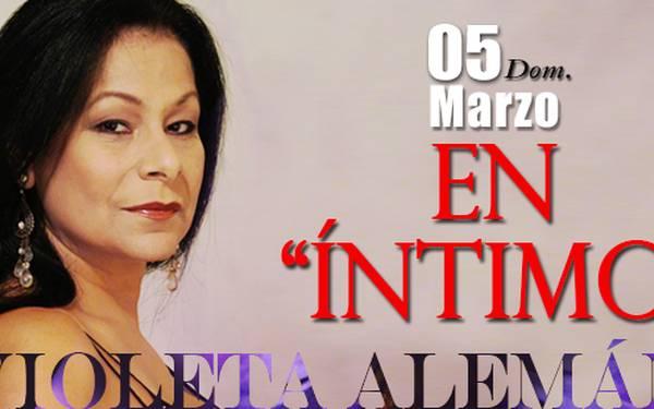 Violeta Aleman en Intimo