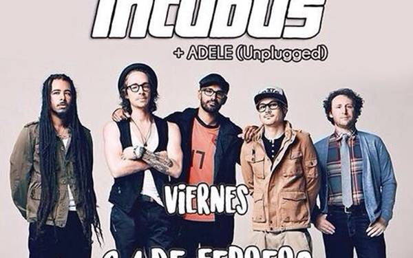 Tributo a INCUBUS - Discovery Bar
