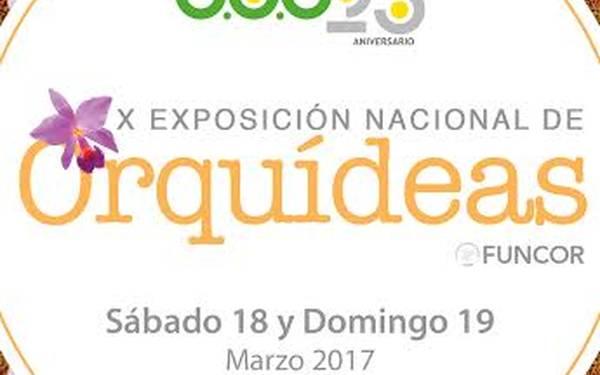 X Exposición de Orquídeas
