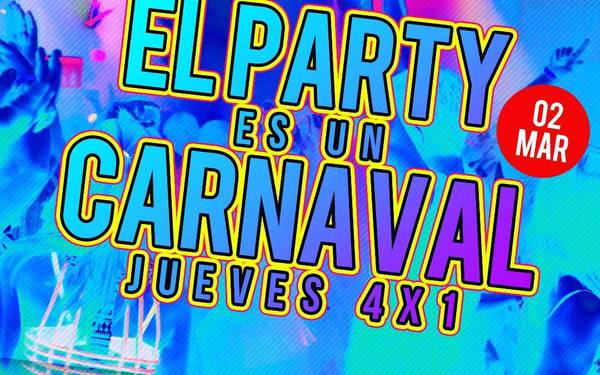Post carnavales- #JUEVES4X1