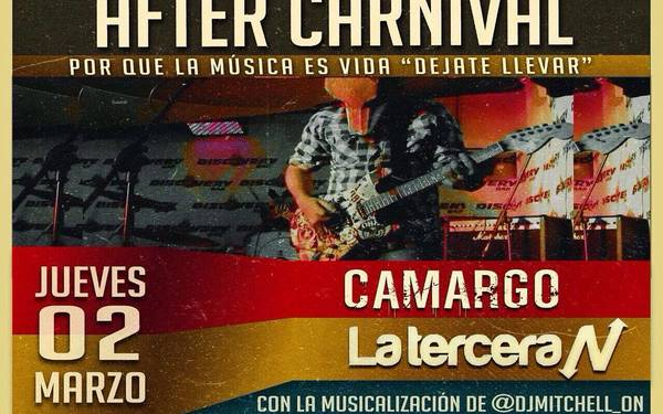 #AfterCarnival en Discovery Bar