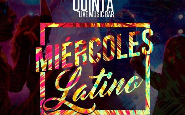En La Quinta Bar es de #MiércolesLatino