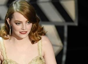 Emma Stone responde al error a Mejor Película entre 'La La Land' y 'Moonlight' en los Oscars