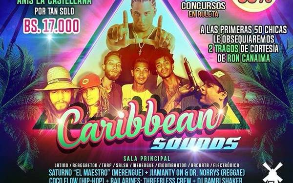 #CaribbeanSoundsParty