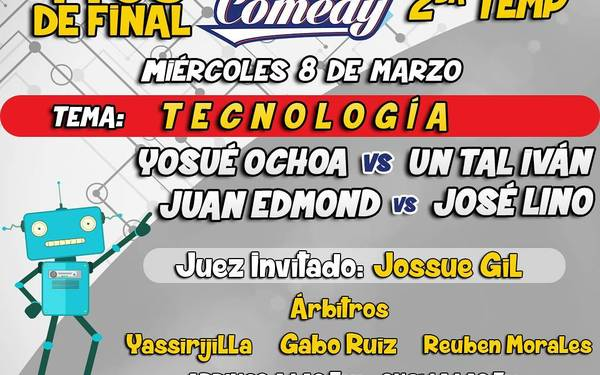Liga stand up Vzla - 4tos de final
